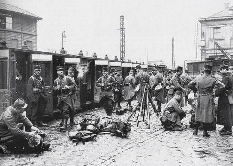 L'entrée en guerre et la concentration des troupes à l'été 1914 | Nos Racines | Scoop.it