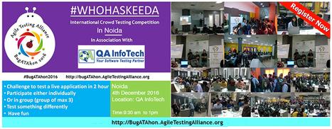 ATA-BugATAhon 2016 - At QA InfoTech | QA Thought Leaders | Scoop.it