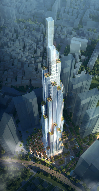 [Est-ce bien raisonnable ? ] Atkins starts work on Vietnam's tallest skyscraper | The Architecture of the City | Scoop.it