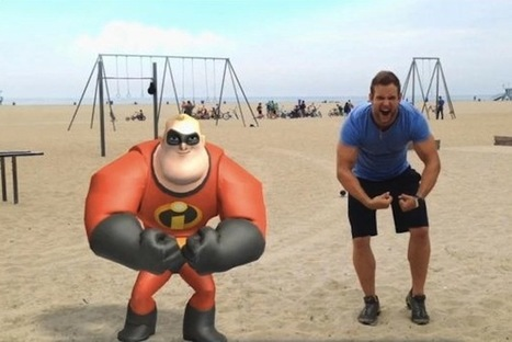 Mobile AR Game Players Star In Their Own Disney Video - PSFK | Radio Show Contents | Scoop.it