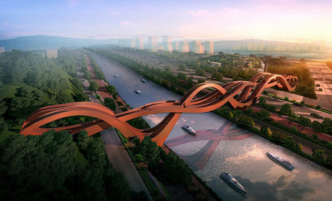 NEXT architects win competition for meixi lake bridge | Social studies | Scoop.it