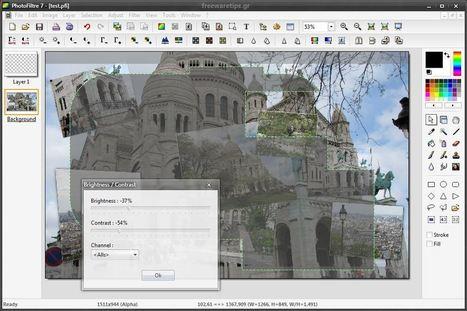 PhotoFiltre - Επεξεργασία φωτογραφιών | Freeware Tips | Scoop.it