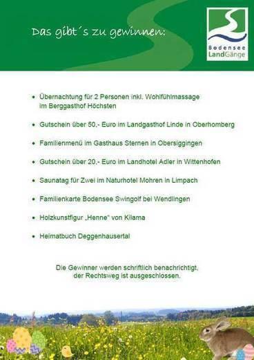 Oster-Wanderung auf dem Premiumwanderweg Bergtour Höchsten mit Gewinnspiel am 5. April 2015 | UnserBodensee | Scoop.it