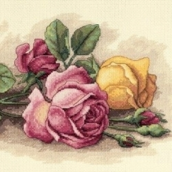Floral Beaded Cross Stitch Kits | Crafts & DIY | Scoop.it