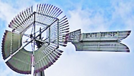 The vane of a windmill says it all - Hiawatha World | Windmills | Scoop.it