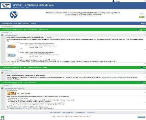 validateur W3C en français | fonds d'écran gratuits | Scoop.it