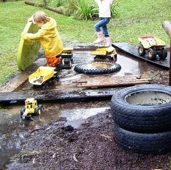 let the children play: loose parts = imagination + creativity | Childcare | Scoop.it