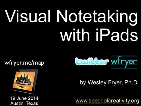Visual Notetaking with iPads (June 2014) | Digitales Lernen | Scoop.it