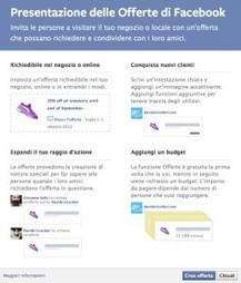 Arrivano le Offerte di Facebook su tutte le pagine | Davide Licordari | web - design - marketing - tool 2.0 | Scoop.it