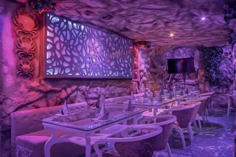 Icy N Spicy – An Aqua Themed Restaurant, Indirapuram, Delhi NCR | Interior Designing Services | Scoop.it