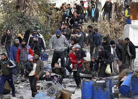 Effroyables difficultés dans la vieille ville de Homs | Intervalles | Scoop.it