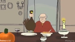 Larry David's Brooklyn Thanksgiving - Very Funny - Socks On An Octopus | SOAO Funny and Unusual | Scoop.it