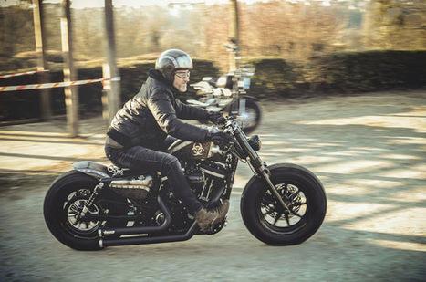 Kustom Store Motorcycles: Atelier KS: La Toxic de Frédéric | Kustom Store Motorcycles | Scoop.it