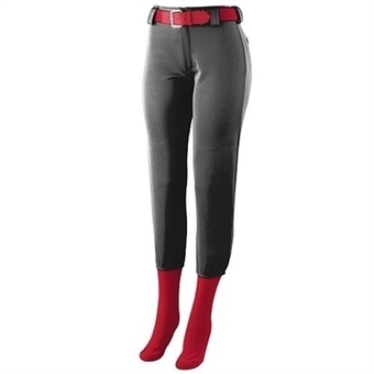 Girls Low Rise Softball Pants at YouthSportsPlans.com | 100% Polyester Double Knit Girls Softball Pants | Scoop.it