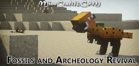 Fossil Archaeology Revival 1.6.2 Mod for Minecraft 1.6.2/1.5.2 | MineCraft12 | MineCraft Downloads | RAWR | Scoop.it