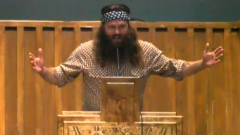 'Duck Dynasty' Stars Preaching in Church -- We're Hunting for Salvation [VIDEO] - TMZ.com | Christians in the news | Scoop.it