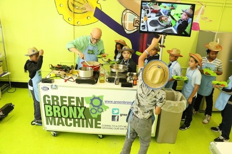 The Green Bronx Machine Mobile Classroom Kitchen! | Green Bronx Machine | Vertical Farm - Food Factory | Scoop.it