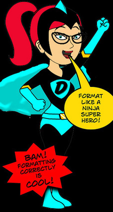 Format MS Word Like a Ninja Super Hero!   The Daring Librarian   Library Learning Commons   Scoop.it