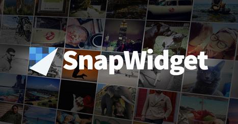 SnapWidget | Instagram Widget | Cloud Apps | Scoop.it