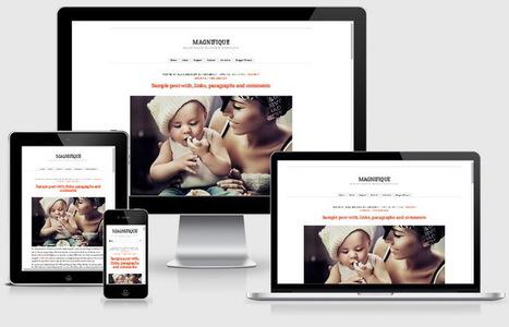Magnifique Blogger Template | Blogger themes | Scoop.it