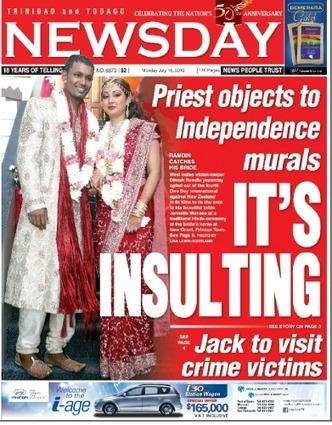 Newsday - Front Page - Mon 16th July 2012   Trininews   Scoop.it