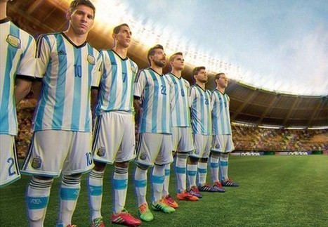 Adidas Unveils Kits for World Cup 2014 Teams | Design Ideas | Scoop.it