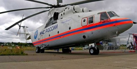 The world's largest helicopter can lift an airliner with remarkable ease | Aviation & Airliners | Scoop.it