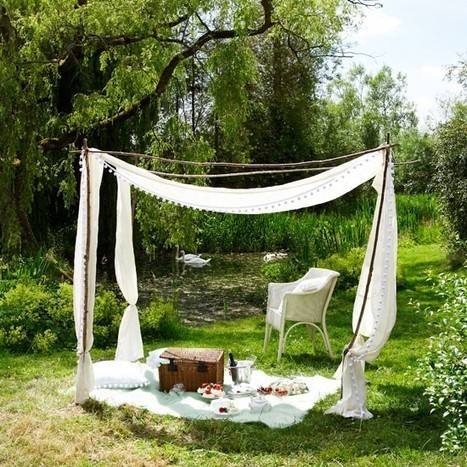 Create a temporary outdoor room | Upcycled Garden Style | Scoop.it