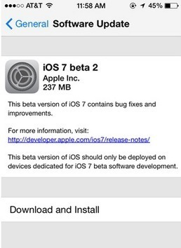 Apple Releases iOS 7 Beta 2 For iPhone / iPad To Users with Developer's Account - | iPhone 5S Release Date | Scoop.it