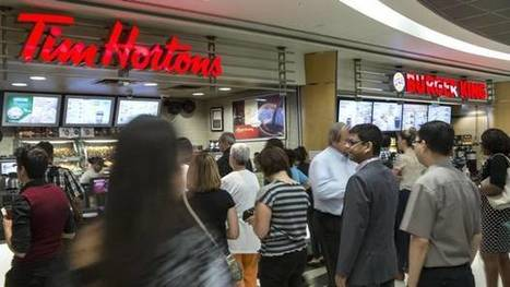 Tim Hortons owner's sales growth hit by sluggish demand, lower grocery prices | Canadian Retail Update | Scoop.it
