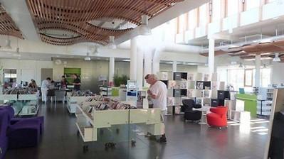 La médiathèque Ormedo séduit, joue l'audace et la surprise , Orvault 07/09/2013 - ouest-france.fr | bibliothèques troisième lieu, bibliothèques innovantes | Scoop.it