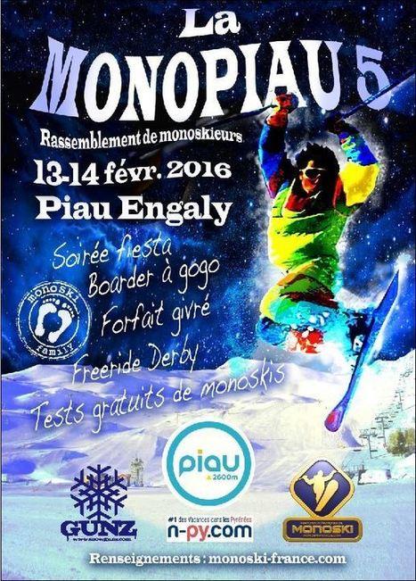 Du monoski à Piau les 13 et 14 février | Vallée d'Aure - Pyrénées | Scoop.it