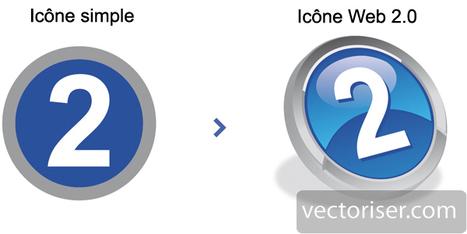 Amélioration d'une icône en style WEB 2.0 sous ILLUSTRATOR | Graphisme | Scoop.it