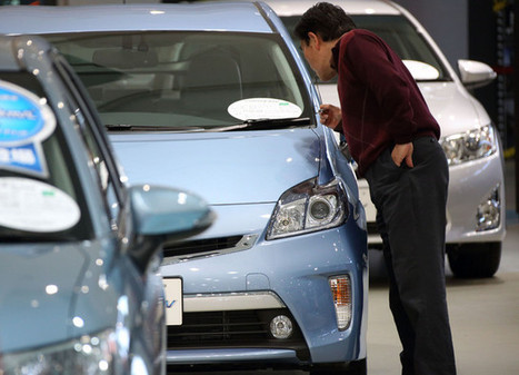 Japan's Worst Auto Sales in 16 Months Show Hangover Beginning | Asia | Scoop.it
