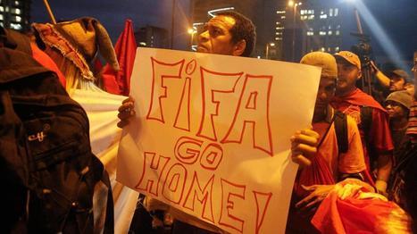 Au Brésil, qui veut pourrir la Coupe du monde rêvée de Michel Platini ? | L'Air du Temps | Scoop.it