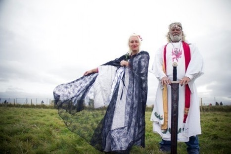 The Real-Life King Arthur and His Biker-Druid Followers | Strange days indeed... | Scoop.it