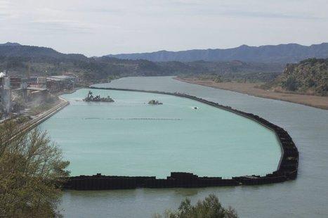 L'extracció dels llots tòxics del pantà de Flix arriba al 80% i finalitzarà a la tardor | #territori | Scoop.it