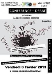 Conférence dyslexie le 8 février 2013 à 19h30 au Foyer rural de ... | Faire du mind mapping | Scoop.it
