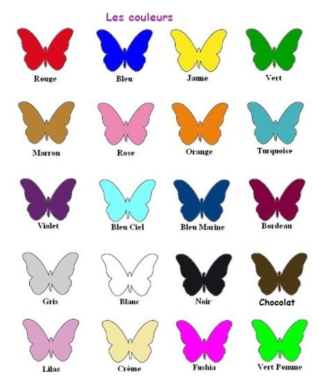 PEINTURE FLE  Exercice sur les couleurs  Lear
