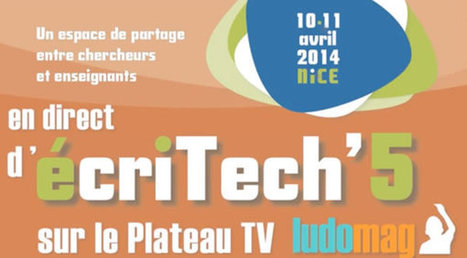 Synthèse du colloque écritech'5 : Daniel Auverlot | TELT | Scoop.it