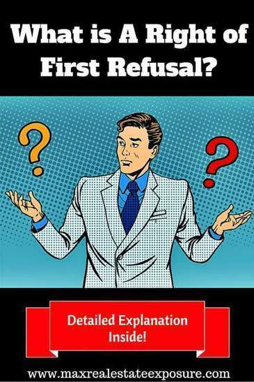 What is a Kick Out Clause or Right Of 1st Refusal   Real Estate Articles Worth Reading   Scoop.it
