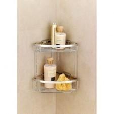 Impey Double Corner Basket | Easy Bathrooms | Scoop.it