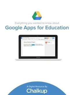 Everything about Google Apps for Education - free eBook | Teacher Resources for Our Staff | Scoop.it