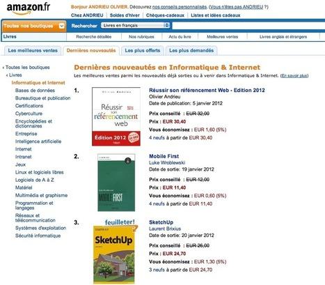 """Le livre """"Réussir son référencement web, édition 2012"""" cartonne sur Amazon   club-ecommerce-07-leviers promotionnels   Scoop.it"""