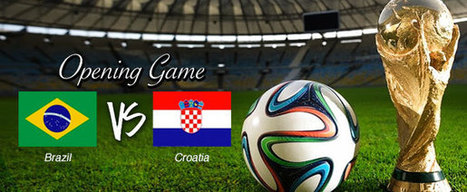 World Cup Betting - Opening game with Brazil and Croatia | Bet the World Cup | News Bet The World Cup | Scoop.it