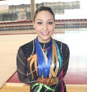 Destaca Madeleine Cantú en gimnasia rítmica | Revista Magnesia | Scoop.it