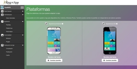 King of App, sistema de gestión de contenidos para crear Apps fácilmente | Educacion, ecologia y TIC | Scoop.it
