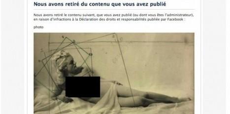 Facebook : le musée du Jeu de Paume ne publiera plus de nus | Art contemporain et culture | Scoop.it