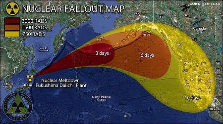 Les nourrissons de Californie ont été atteints par les retombées de Fukushima | Japan Tsunami | Scoop.it