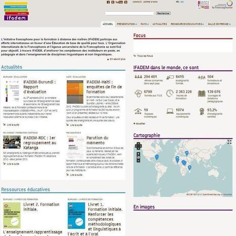 Nouveau site de l'IFADEM | Cultures francophones et langue française | Scoop.it